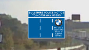 Motorway Sign Enhanced