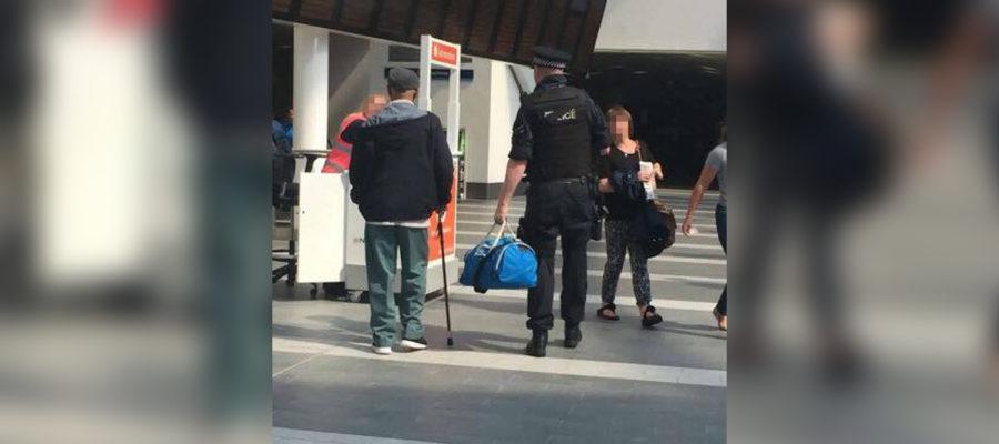 Cop Bag Snatch I