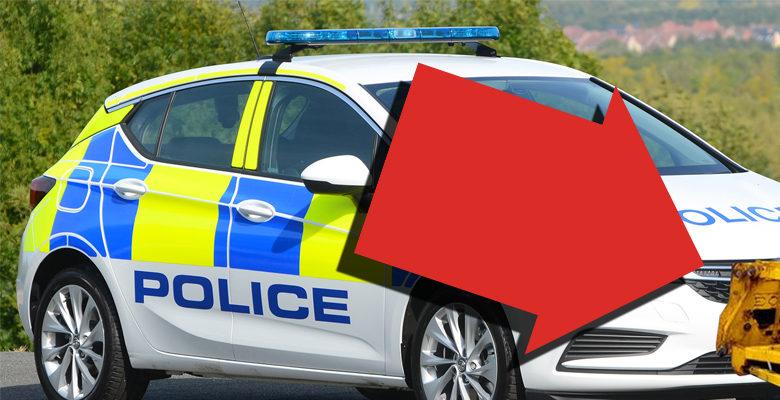 Police Car Plough
