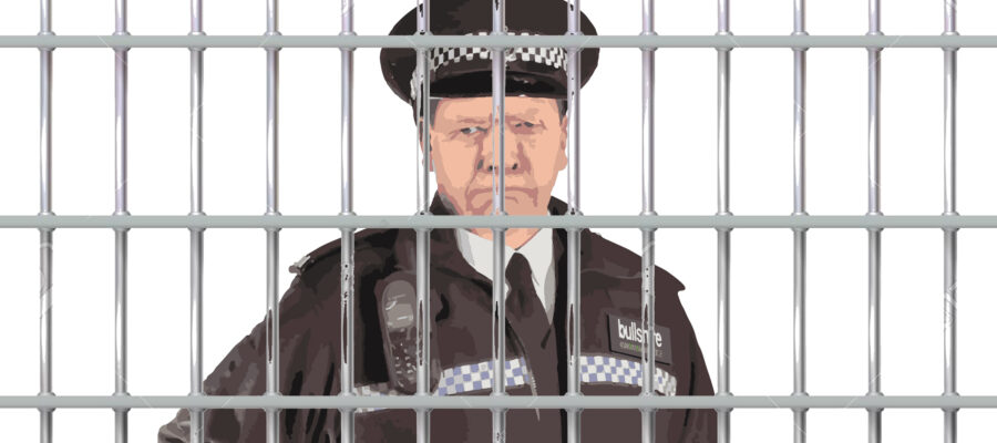 Grumpy Old Sweat Behind Bars
